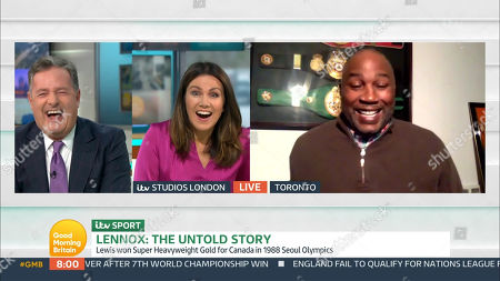 Editorial picture of 'Good Morning Britain' TV Show, London, UK - 16 Nov 2020