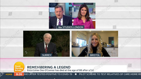 Piers Morgan, Susanna Reid, Jimmy Tarbuck and Carol Vorderman
