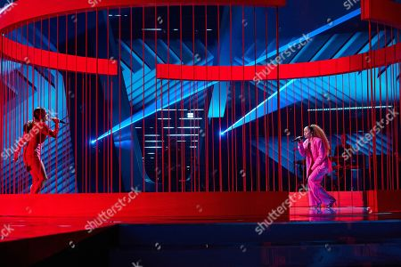 Editorial photo of 'The Voice UK' TV Show, Final, Series 4, Episode 14, UK - 14 Nov 2020