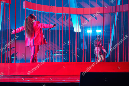 Editorial image of 'The Voice UK' TV Show, Final, Series 4, Episode 14, UK - 14 Nov 2020