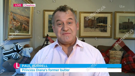 Stock Picture of Paul Burrell