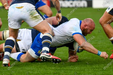 Editorial picture of Autumn Nations Cup rugby match - Cattolica Test Match 2020 - Italy vs Scotland - 14 Nov 2020