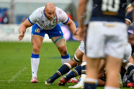 Editorial photo of Autumn Nations Cup rugby match - Cattolica Test Match 2020 - Italy vs Scotland - 14 Nov 2020