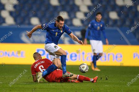 Editorial photo of Soccer: UEFA Nations League 2020-2021: Italy 2-0 Poland, Reggio Emilia, Italy - 15 Nov 2020