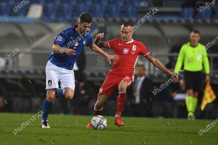 Editorial picture of Soccer: UEFA Nations League 2020-2021: Italy 2-0 Poland, Reggio Emilia, Italy - 15 Nov 2020
