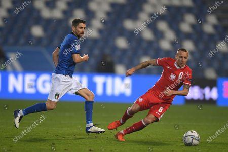 Editorial image of Soccer: UEFA Nations League 2020-2021: Italy 2-0 Poland, Reggio Emilia, Italy - 15 Nov 2020