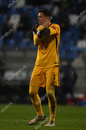 "Wojciech Szczesny (Poland)                       during the UEFA ""Nations League 2020-2021"" match between Italy 2-0 Poland   at Mapei Stadium  on November 15 , 2020 in Reggio Emilia, Italy."