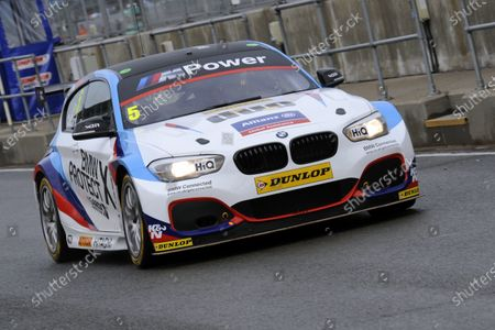 2017 British Touring Car Championship, Silverstone, Northants, UK. 16th-17th September 2017 Robert Collard (GBR) Team BMW BMW 125i M Sport World copyright. JEP/LAT Images
