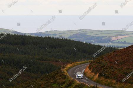 2017 Prestone MSA British Rally Championship, Rally Isle of Man. 14th - 16th September 2017. Meirion Evans / Jonathan Jackson Peugeot 208 R2. World Copyright: JEP/LAT Images