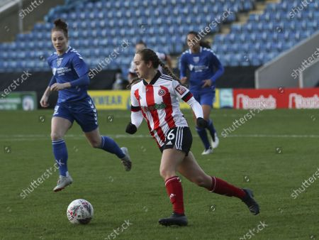 Lucy Watson (#16 Sheffield United) during the FA Women's Championship match between Sheffield United and Durham