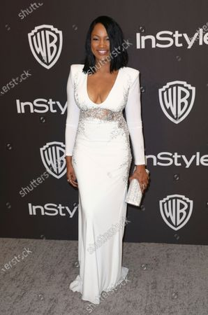 Garcelle Beauvais arrives at the InStyle and Warner Bros. Golden Globes afterparty, in Beverly Hills, Calif. Beauvais turns 54 on Nov. 28