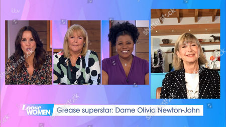 Andrea McLean, Linda Robson, Brenda Edwards and Dame Olivia Newton-John