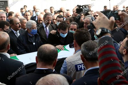 Editorial photo of Syrian Foreign Minister Walid al-Moallem dies, Damascus, Syria - 16 Nov 2020