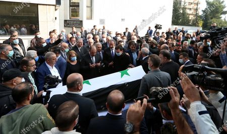 Editorial picture of Syrian Foreign Minister Walid al-Moallem dies, Damascus, Syria - 16 Nov 2020