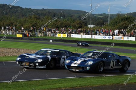 Stock Picture of 2017 Goodwood Revival, Goodwood Estate, West Sussex, England.  8th-10th September 2017 Whitsun Trophy Stuart  Hall Christopher Wilson GT40 World Copyright: Jeff Bloxham/LAT Images, Ref: Digital Image
