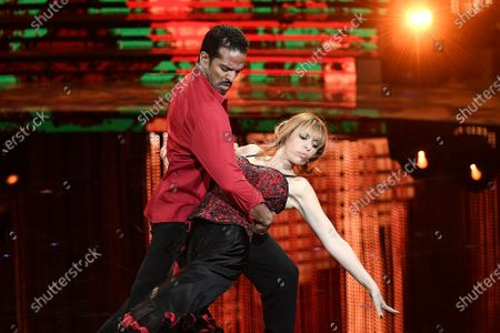 Editorial picture of 'Dancing with the stars' TV show, Rome, Italy - 15 Nov 2020