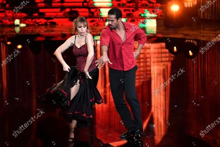 Editorial photo of 'Dancing with the stars' TV show, Rome, Italy - 15 Nov 2020