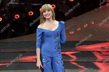 TV host Milly Carlucci