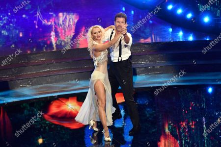Editorial image of 'Dancing with the stars' TV show, Rome, Italy - 15 Nov 2020
