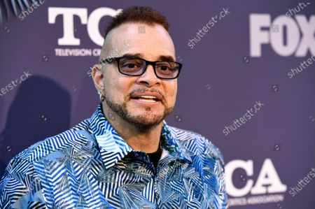 "Sinbad, a cast member in the television series ""Rel,"" poses at the FOX Summer TCA All-Star Party in West Hollywood, Calif., on . The family of Sinbad says the comedian-actor is recovering from recent stroke. The 64-year-old Sinbad, born David Adkins, is known for his stand-up work and appearances in the sitcoms ""A Different World"" and ""The Sinbad Show."" The entertainer has also appeared in several movies"