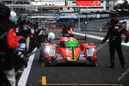 2017 World Endurance Championship, Mexico City, Mexico. 1st-3rd September 2017, #25 CEFC Manor TRS Team China ORECA 07-Gibson: Roberto Gonzalez, Simon Trummer, Vitaly Petrov  World copyright. JEP/LAT Images