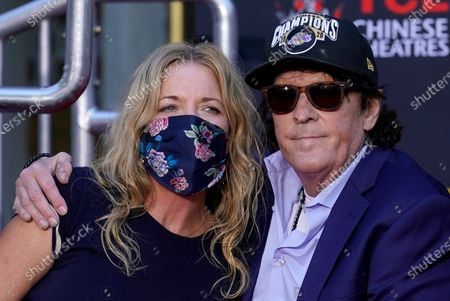 Editorial picture of Michael Madsen Hand and Footprint Ceremony, Los Angeles, United States - 16 Nov 2020