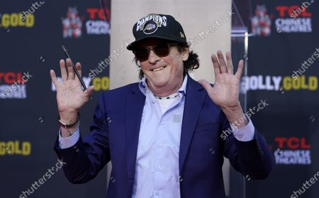 Editorial image of Michael Madsen Hand and Footprint Ceremony, Los Angeles, United States - 16 Nov 2020