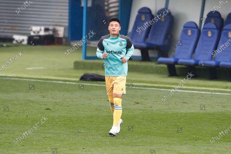 "Wu Lei (Espanyol) - Football / Soccer : Spanish ""La Liga SmartBank"" match between CF Fuenlabrada 1-1 RCD Espanyol de Barcelona at the Estadio Fernando Torres in Fuenlabrada, Spain."