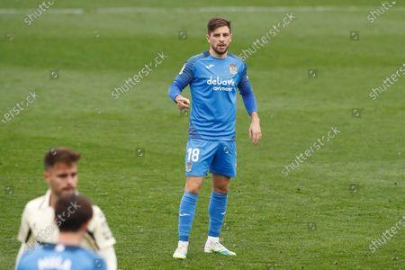 """Franchu (Fuenlabrada) - Football / Soccer : Spanish """"La Liga SmartBank"""" match between CF Fuenlabrada 1-1 RCD Espanyol de Barcelona at the Estadio Fernando Torres in Fuenlabrada, Spain."""