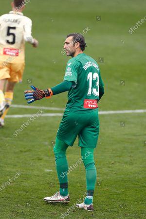"""Diego Lopez (Espanyol) - Football / Soccer : Spanish """"La Liga SmartBank"""" match between CF Fuenlabrada 1-1 RCD Espanyol de Barcelona at the Estadio Fernando Torres in Fuenlabrada, Spain."""