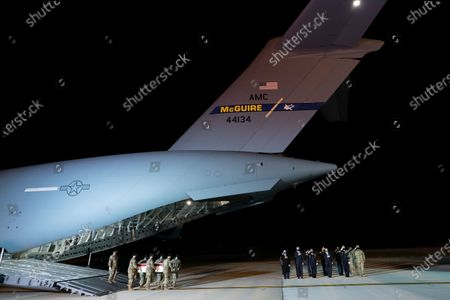 Editorial picture of Casualty Return Egypt, Dover Air Force Base, United States - 16 Nov 2020