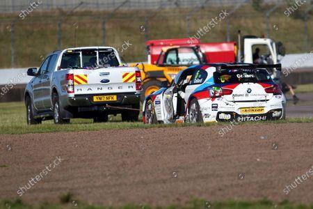 2017 British Touring Car Championship, Rockingham, England. 26th-27th August 2017, Robert Collard (GBR) Team BMW BMW 125i M Sport World Copyright. JEP/LAT Images
