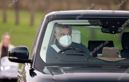 Prince Andrew, Duke Of York.