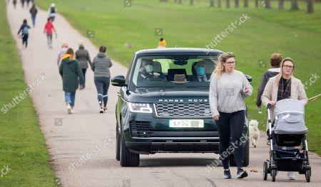 Editorial image of Prince Andrew at Windsor Castle, UK - 16 Nov 2020