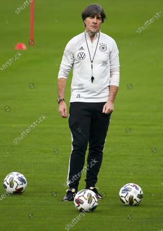 Joachim Low, Manager of Germany during a training session ahead the UEFA Nations League group stage match between Spain and Germany