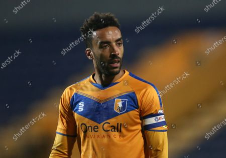 Mansfield Town's James Perch