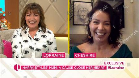 Stock Image of Lorraine Kelly, Anne Twist