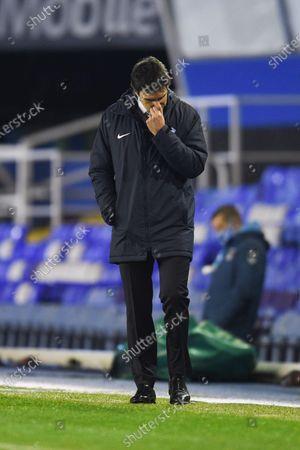 Stock Image of Aitor Karanka Head Coach of Birmingham City.