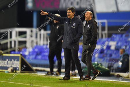 Stock Picture of Aitor Karanka Head Coach of Birmingham City.