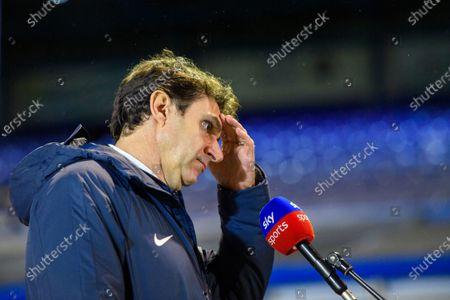 Aitor Karanka Head Coach of Birmingham City talks to sky sports.