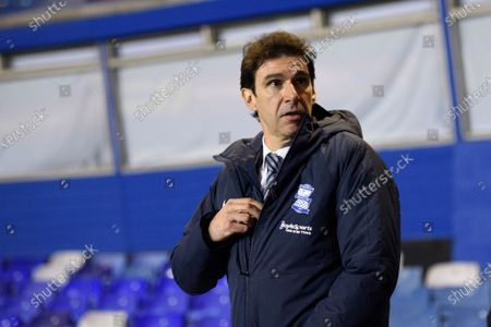 Aitor Karanka Head Coach of Birmingham City.