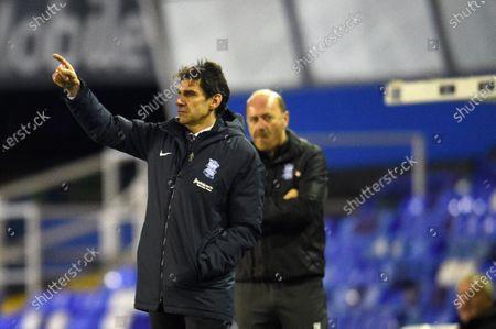 Aitor Karanka Head Coach of Birmingham City .