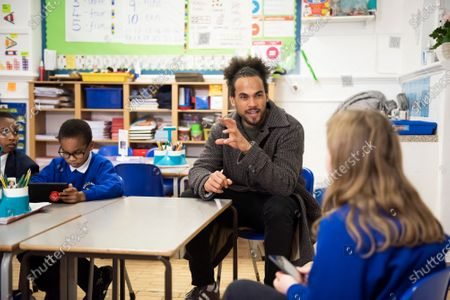 Editorial picture of Vodafone schools connected programme, London, UK - 17 Nov 2020