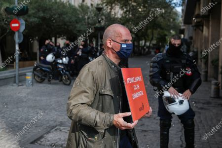 Editorial photo of Uprising Anniversary, Athens, Greece - 17 Nov 2020