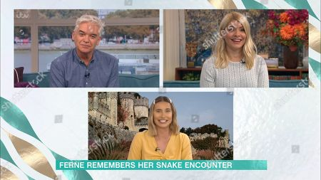 Phillip Schofield, Holly Willoughby, Ferne McCann