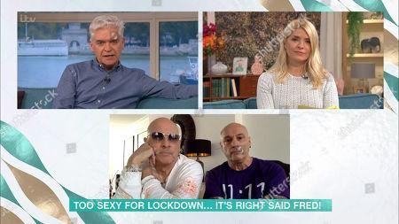 Editorial photo of 'This Morning' TV Show, London, UK - 17 Nov 2020