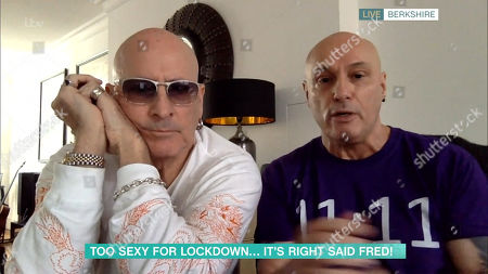 Stock Photo of Richard and Fred Fairbrass