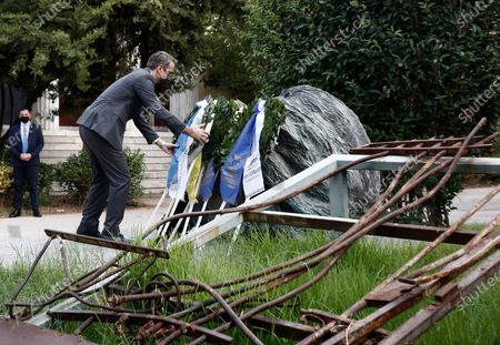 Editorial picture of Greece bans all outdoor gatherings of over four people ahead of the Polytechnic uprising anniversary, Athens - 17 Nov 2020