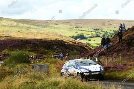 2017 British Rally Championship, Ulster Rally, Londonderry. 18th - 19th August 2017. Meirion Evans / Jonathan Jackson Peugeot 208 R2 World Copyright: JEP/LAT Images.