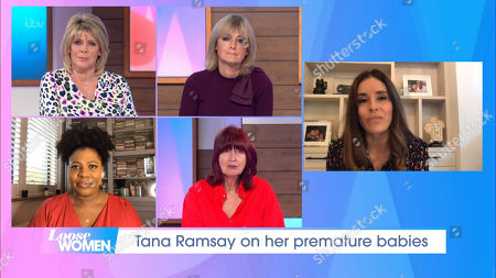 Stock Picture of Ruth Langsford, Jane Moore, Brenda Edwards, Janet Street-Porter, Tana Ramsay
